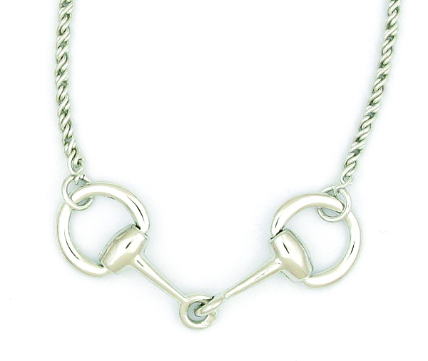 Finishing Touch Medium Snaffle Necklace