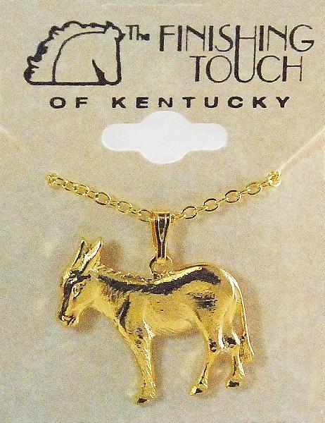 Finishing Touch Donkey Necklace