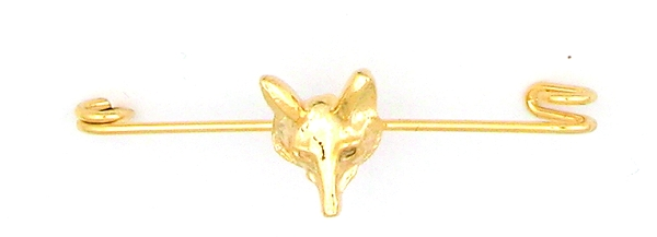 Finishing Touch Fox Mask Stock Pin