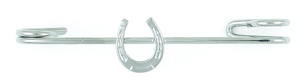 Finishing Touch Horseshoe Stock Pin