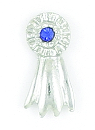 Finishing Touch Blue Ribbon Tack Pin