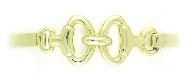 Finishing Touch Snaffle Bit Bangle Bracelet