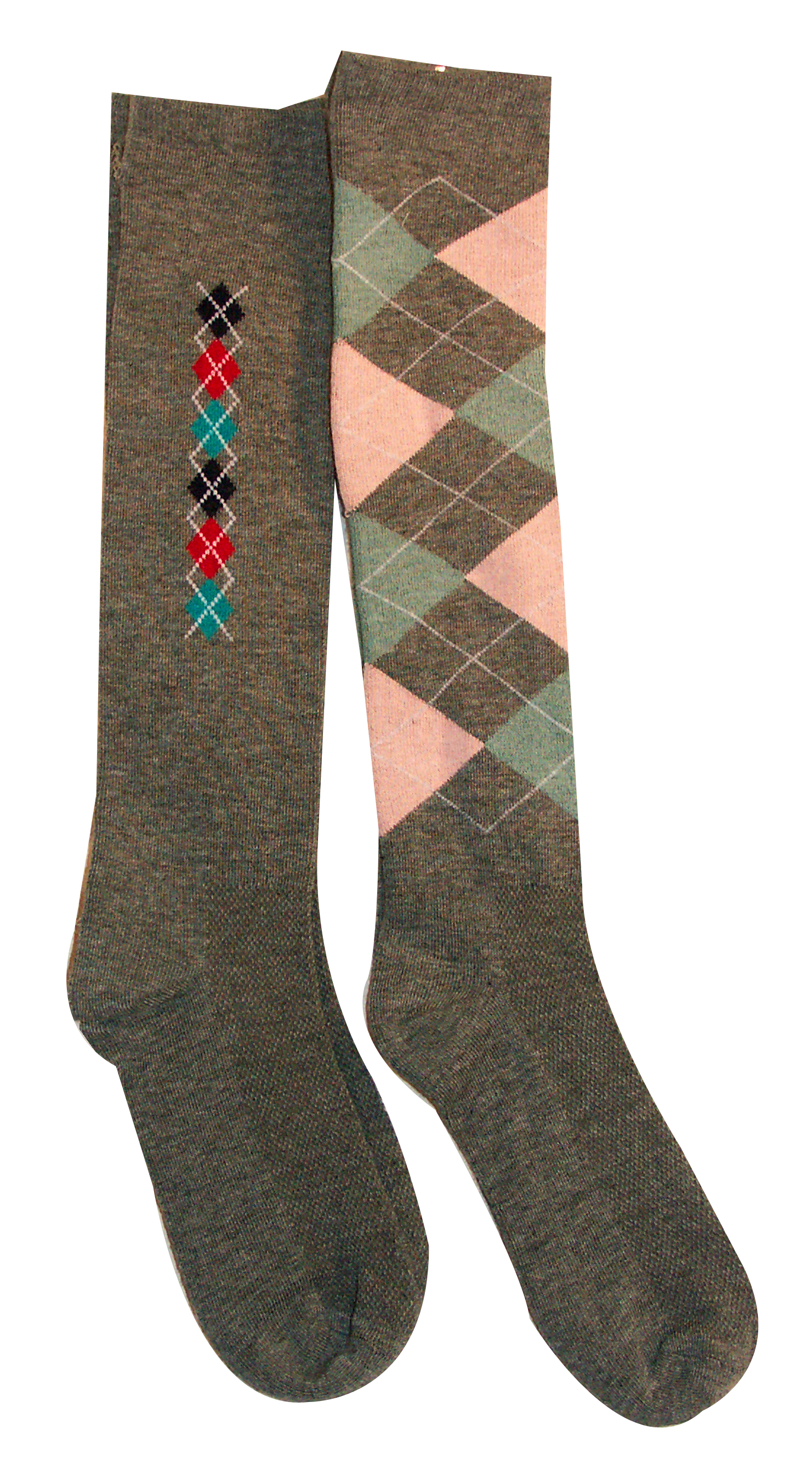 Argyle Ladies' Boot Socks