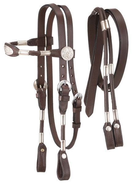 Tough-1 Miniature Poco Headstall with Reins
