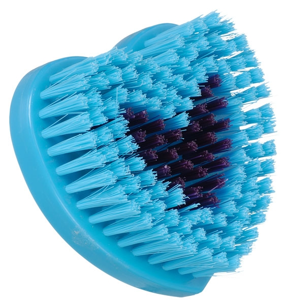 Tough-1 Soft Bristle Brush in Heart Design with Inlaid Crystals