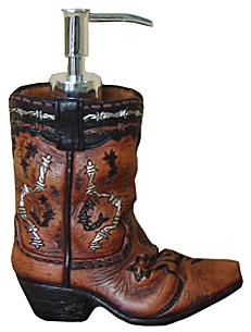 Gift Corral Cowboy Boot Soap Dispencer