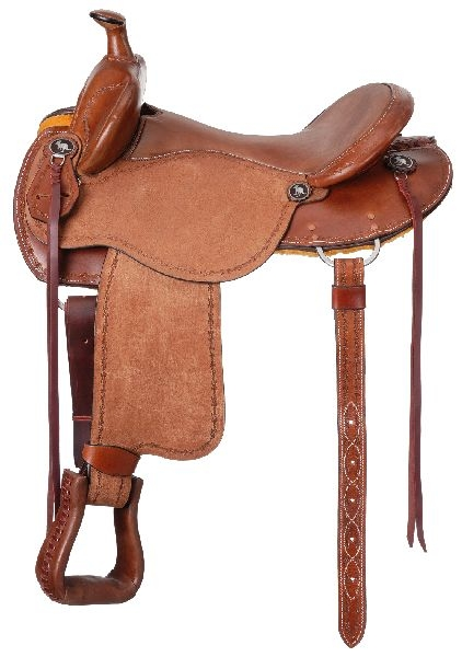 King Series Brisbane Trail Roughout Saddle Package with Horn