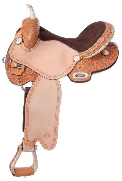 Silver Royal Premium Addison Barrel Saddle