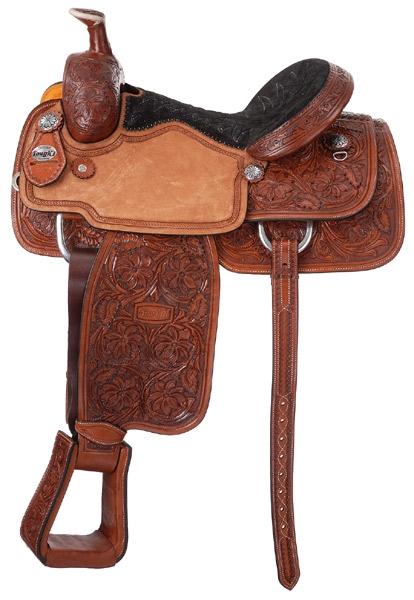 Silver Royal Premium Rising Star Calf Roper Saddle