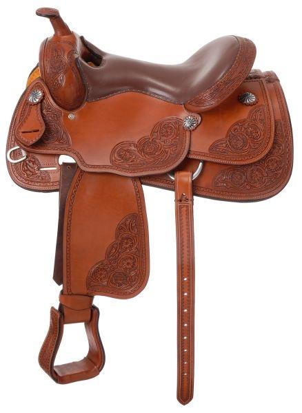 Silver Royal Premium Rio Grande Reiner Saddle