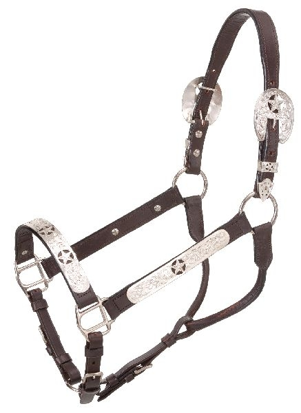 Royal King Halter Full Silver Stars