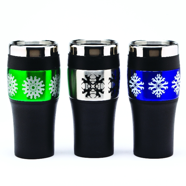 Jumper Horse Kaleidoscope Travel Tumbler Mug