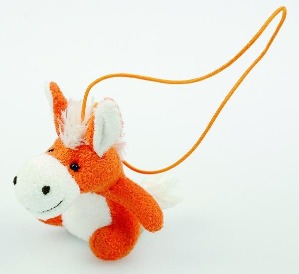 Mini Plush Horse Charm