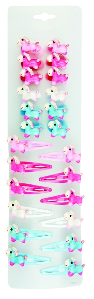 Frostie Pony Hairclips & Hairbands