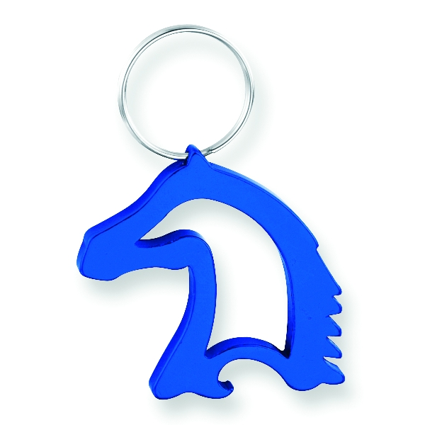 Horse Head Bottle Opener Keychain