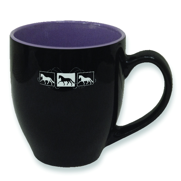 Dressage Box Scroll Design Mug