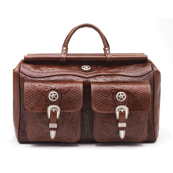 AMERICAN WEST Mahogany Oakleaf Duffel Bag