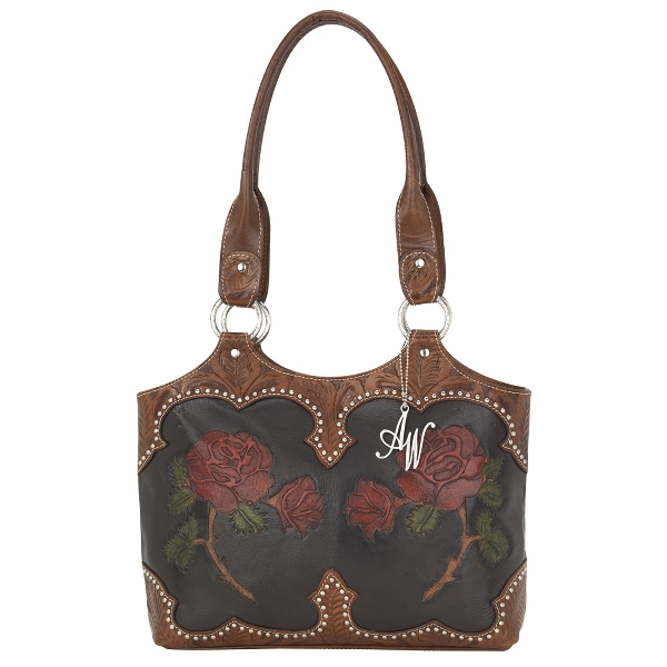 AMERICAN WEST Roses Are Red Fashion Tote Handbag