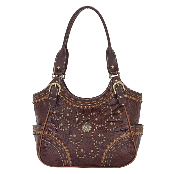 AMERICAN WEST Tularosa Scoop Top Tote Handbag - Swirl
