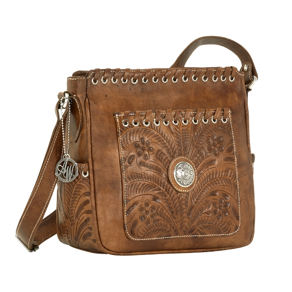 AMERICAN WEST Harvest Moon Crossbody Bag