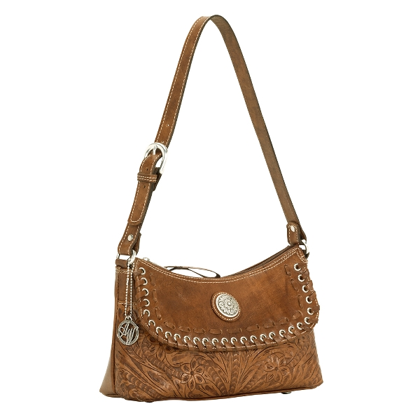 AMERICAN WEST Harvest Moon Shoulder Handbag