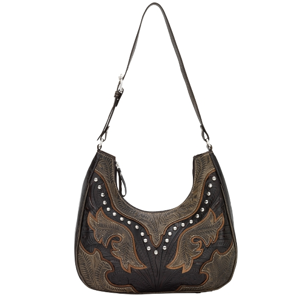 AMERICAN WEST Cowgirl Wings Scoop Hobo Style Handbag