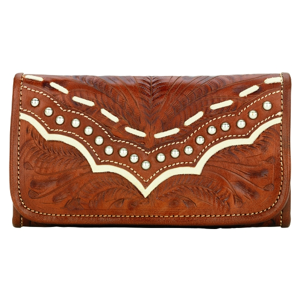 AMERICAN WEST Sundance Ladies' Tri-Fold Wallet