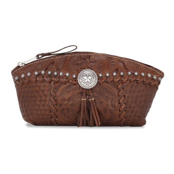 AMERICAN WEST Retro Romance Zipper Accessory Case