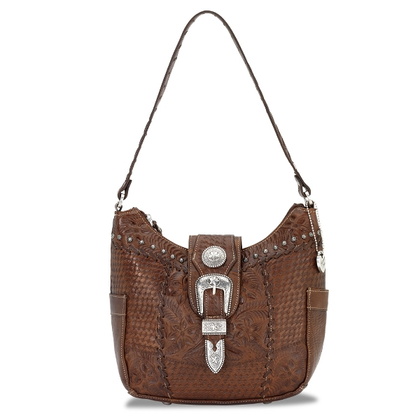 AMERICAN WEST Retro Romance Hobo Style Handbag