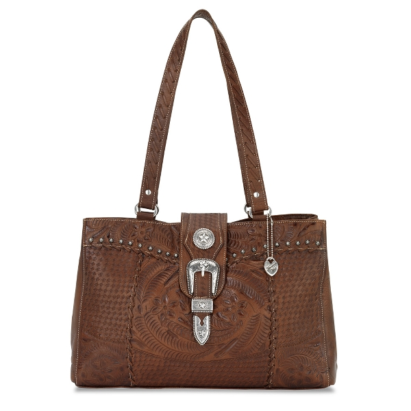 AMERICAN WEST Retro Romance Shopper Bag