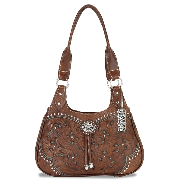 AMERICAN WEST Lady Lace Scoop Handbag
