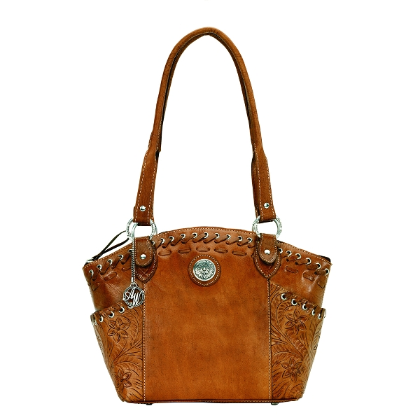 AMERICAN WEST Harvest Moon Bucket Tote Handbag