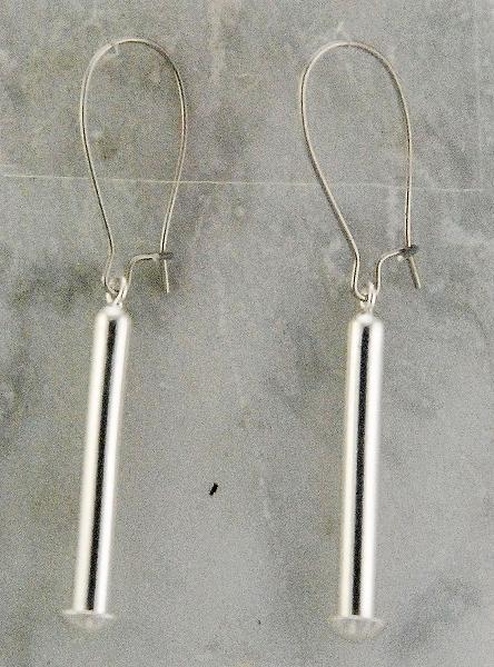 Finishing Touch Drop Link Earrings - Kidney Wire