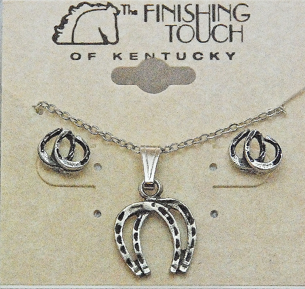 Finishing Touch Double Horseshoe Gift Set