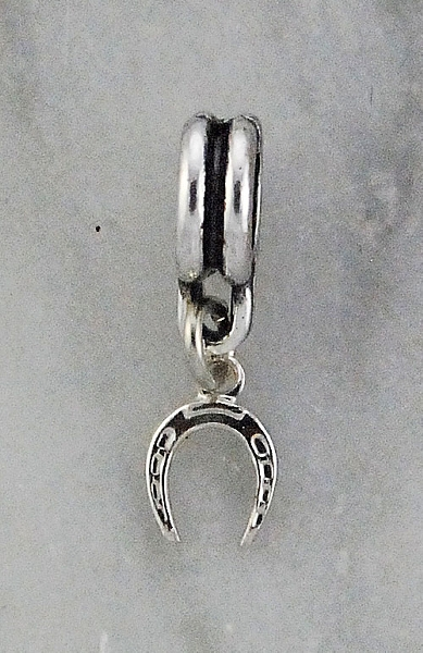 Joppa Dangle Bead - Small Horseshoe