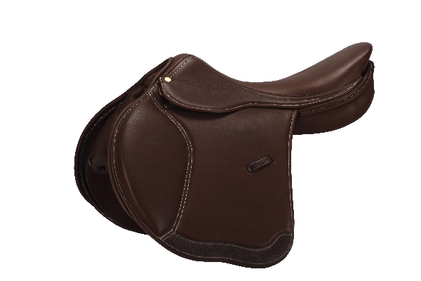 Collegiate Beta Covered Leather Adjustable Tree Saddle