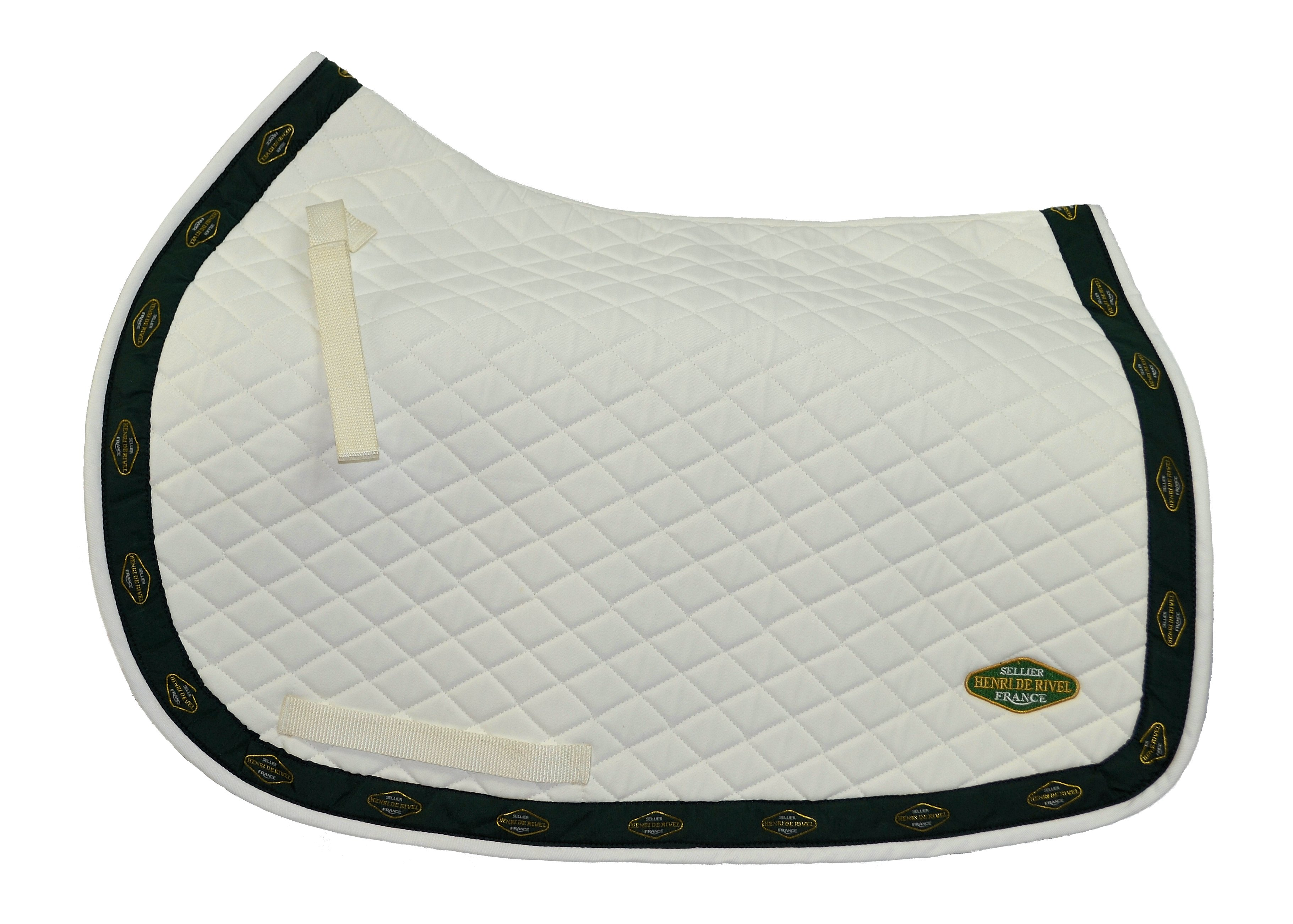 Henri De Rivel Quilted All Purpose Saddle Pad