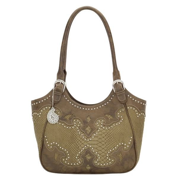 BANDANA Salinas Scoop Zip-Top Tote
