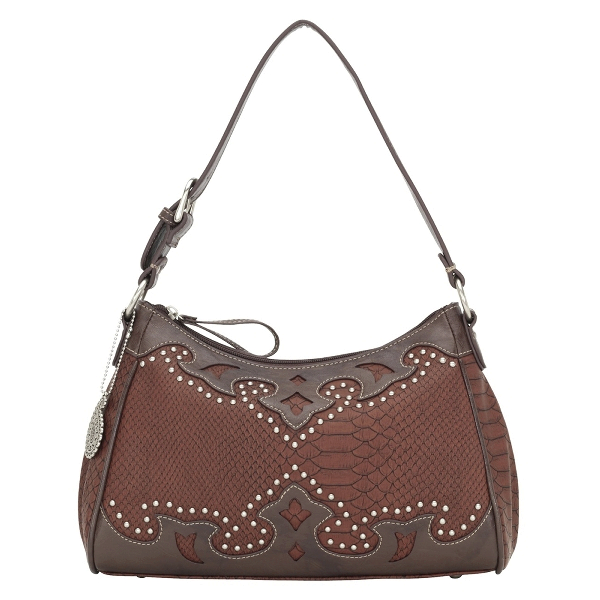 BANDANA Salinas Zip Top Shoulder Handbag