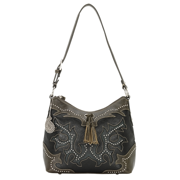 BANDANA Nashville Zip Top Shoulder Handbag