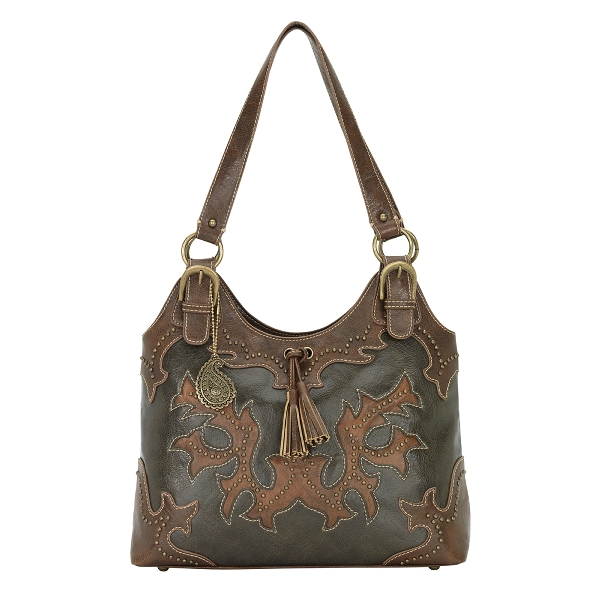 BANDANA Nashville Zip Top Tote