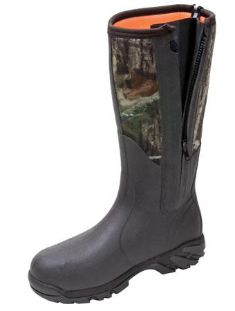 MUCK BOOTS Woody Sport Side Zip - All-Terrain Hunting Boot