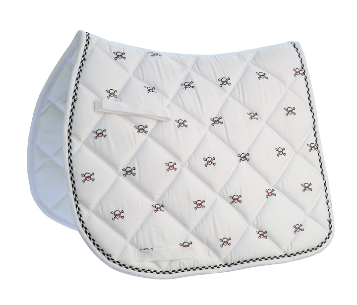 Lettia Embroidered All Purpose Saddle Pad