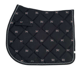 Lettia Embroidered Pony Pad