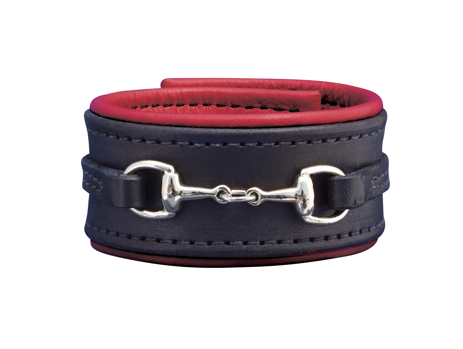 Perri's Padded Leather Bit Bracelet