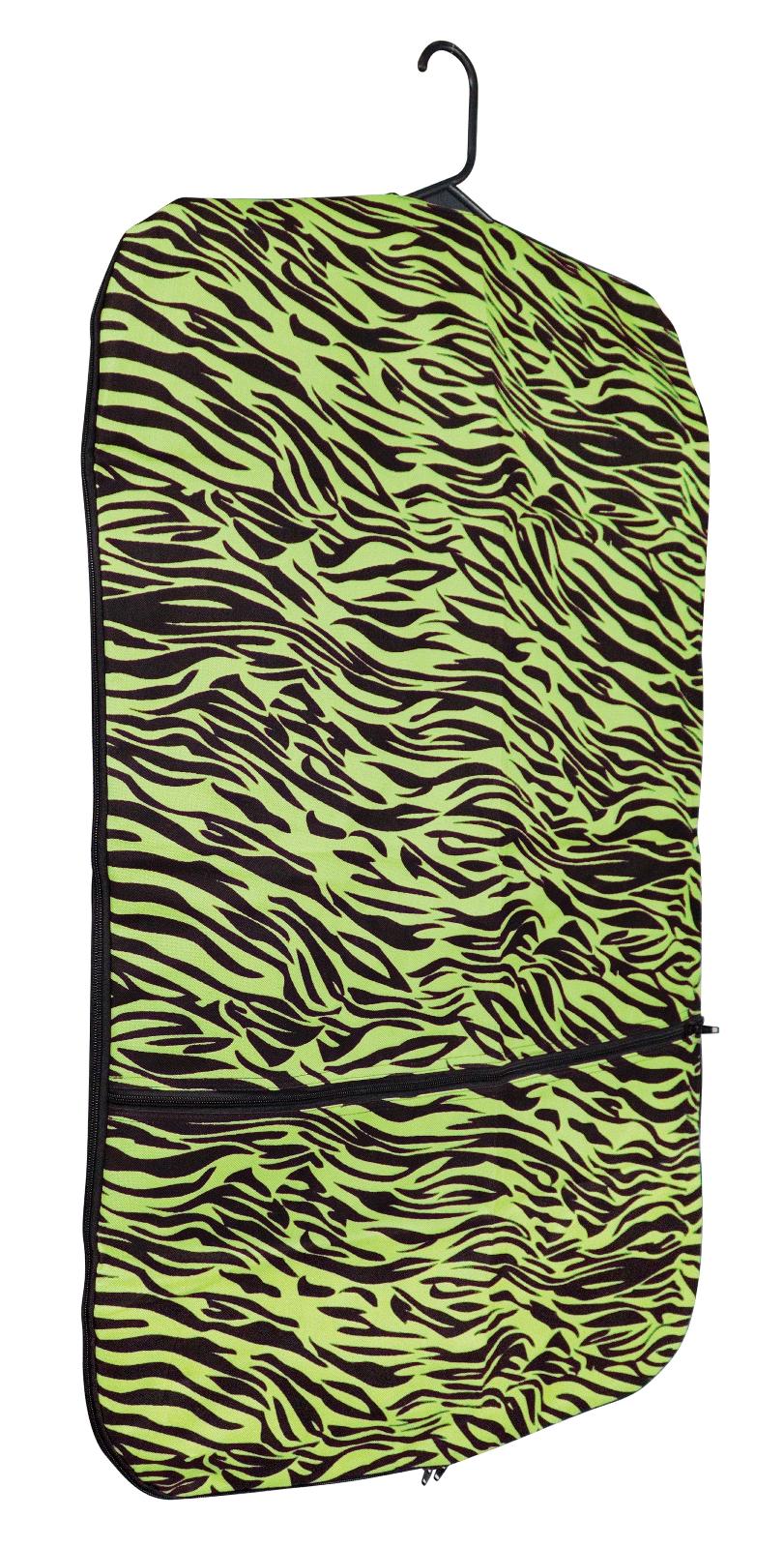 Perri's Zebra Garmet Bag