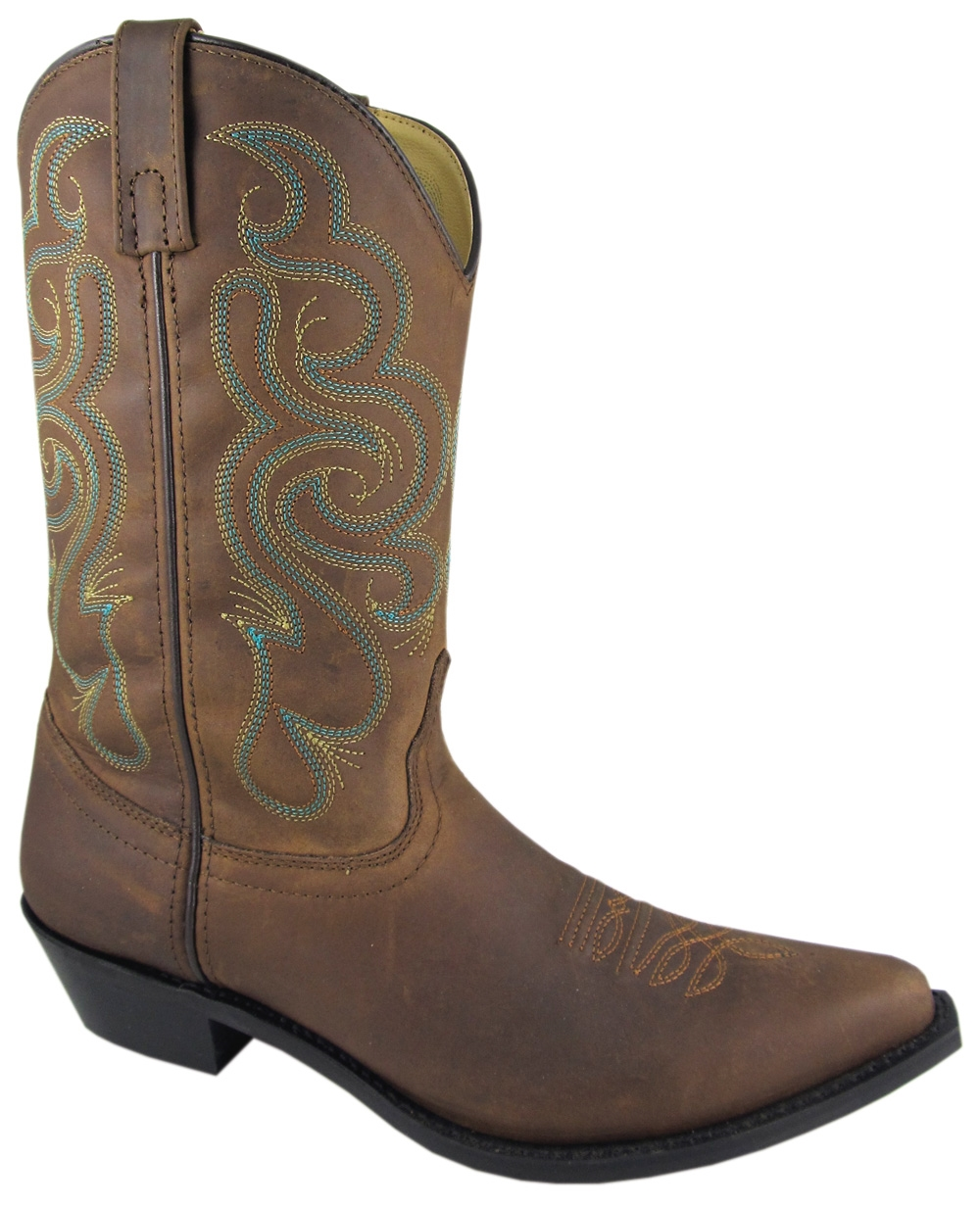 Smoky Mountain Women's Bristol Leather Western Boot