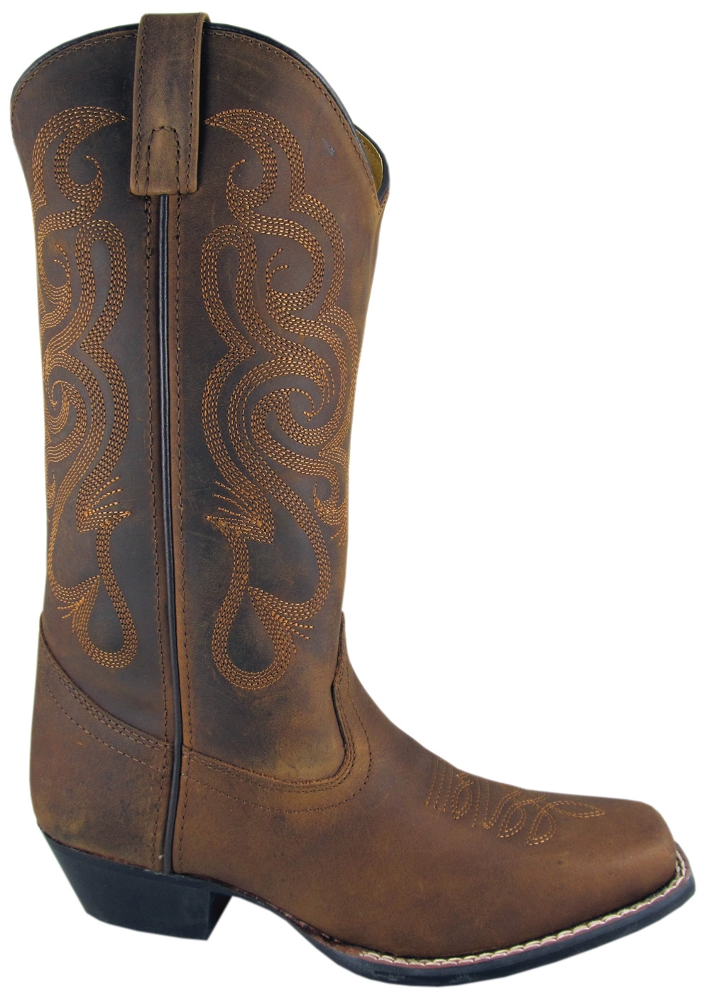 Smoky Mountain Women's Lariat Leather Western Boot