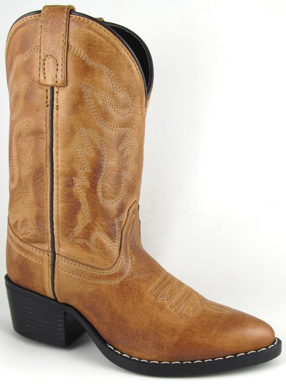 Smoky Mountain Child's Dakota J-Toe Western Boot
