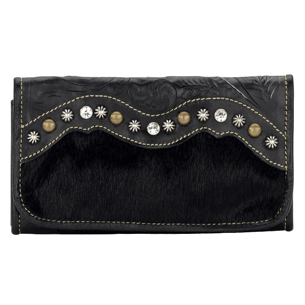 AMERICAN WEST Midnight Horizons Ladies' Tri-Fold Wallet